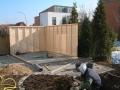 Gartensauna Aufbau
