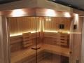 Sauna Beleuchtung mit LED technik
