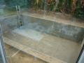 Bodenplatte für Swimspa.