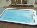 Detailansicht Swimspa mit Wasser