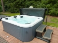 Whirlpool mit Whirlpooltreppe