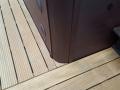 Holzdeck angepasst an Whirlpool