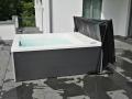 Whirlpool Lounge Concept auf Dach es darf gebadet werden