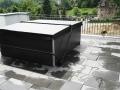 Whirlpool Portcril Lounge Concept auf Dachterasse