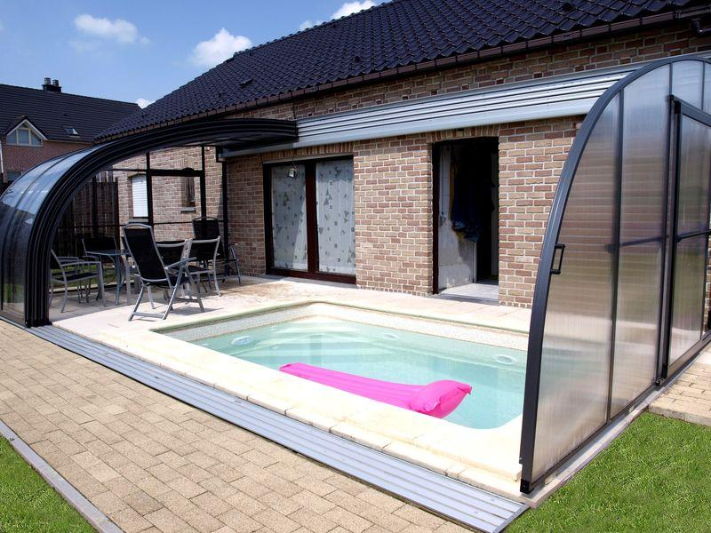 Swimspa berdachung wellnessdrops - Pool am haus ...