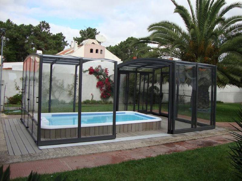Whirlpool outdoor mit überdachung  Swimspa Überdachung | Wellnessdrops
