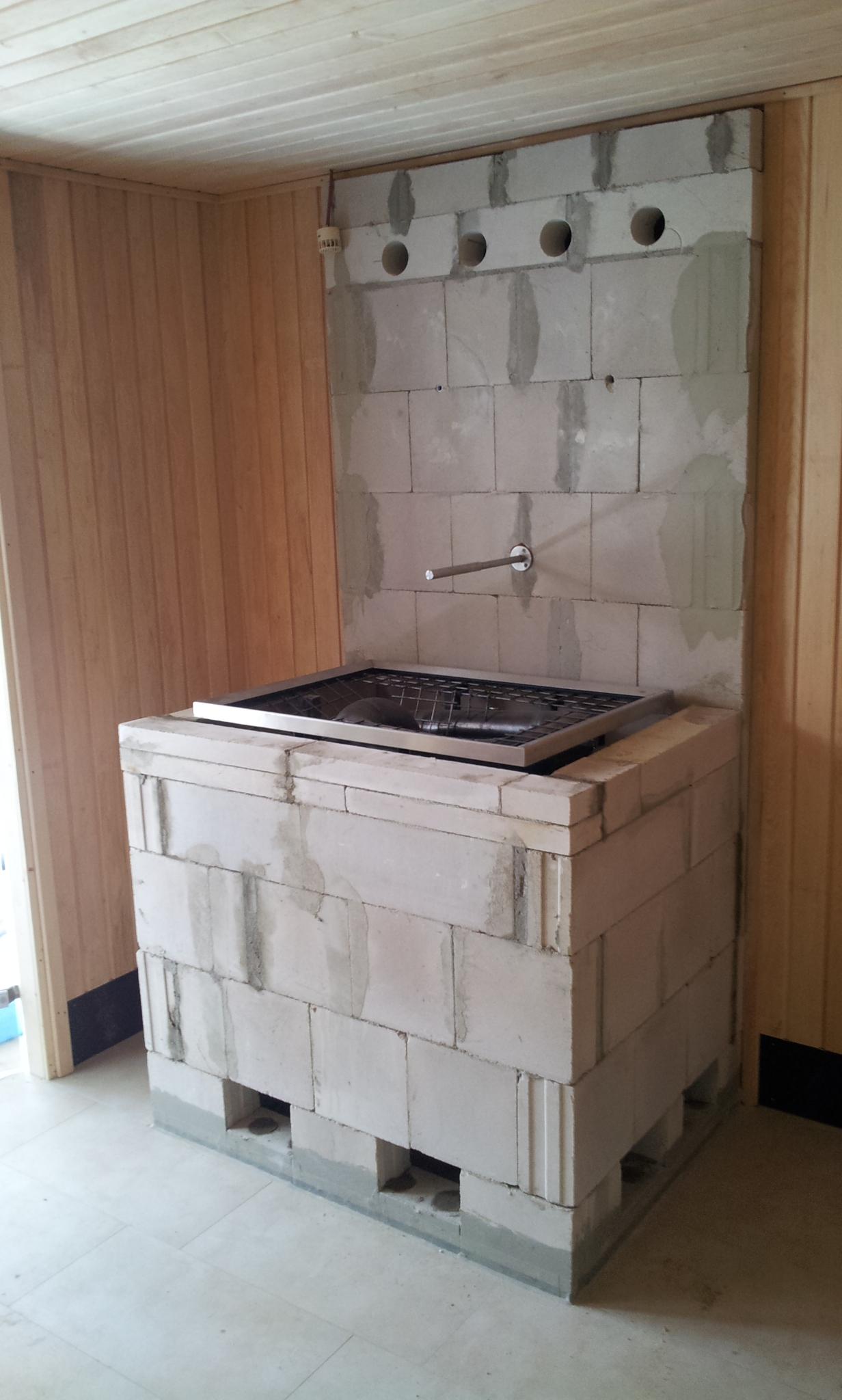 Saunagasofen rohbau wellnessdrops - Sauna whirlpool ...