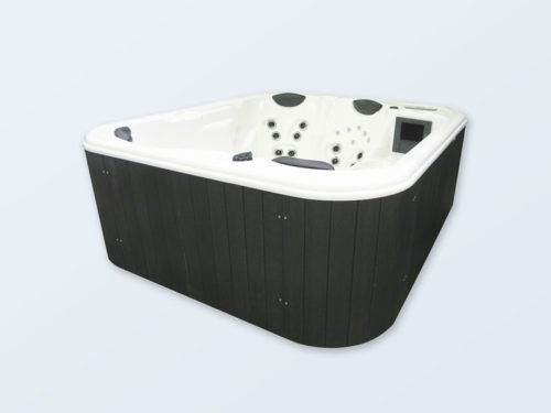 4 Personen Outdoorwhirlpool