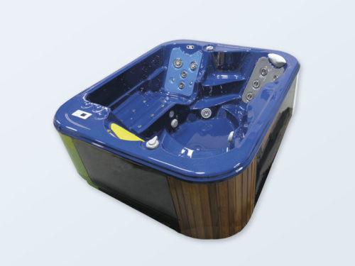 4 Personen Outdoorwhirlpool