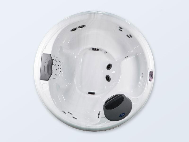 Whirlpool villeroy und boch sportx 151r rund 5 personen - Villeroy und boch badewanne whirlpool ...