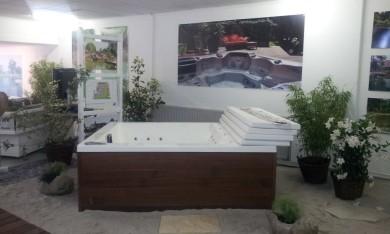 Schwimmteich und Gartenwhirlpool bei der LGS Papenburg