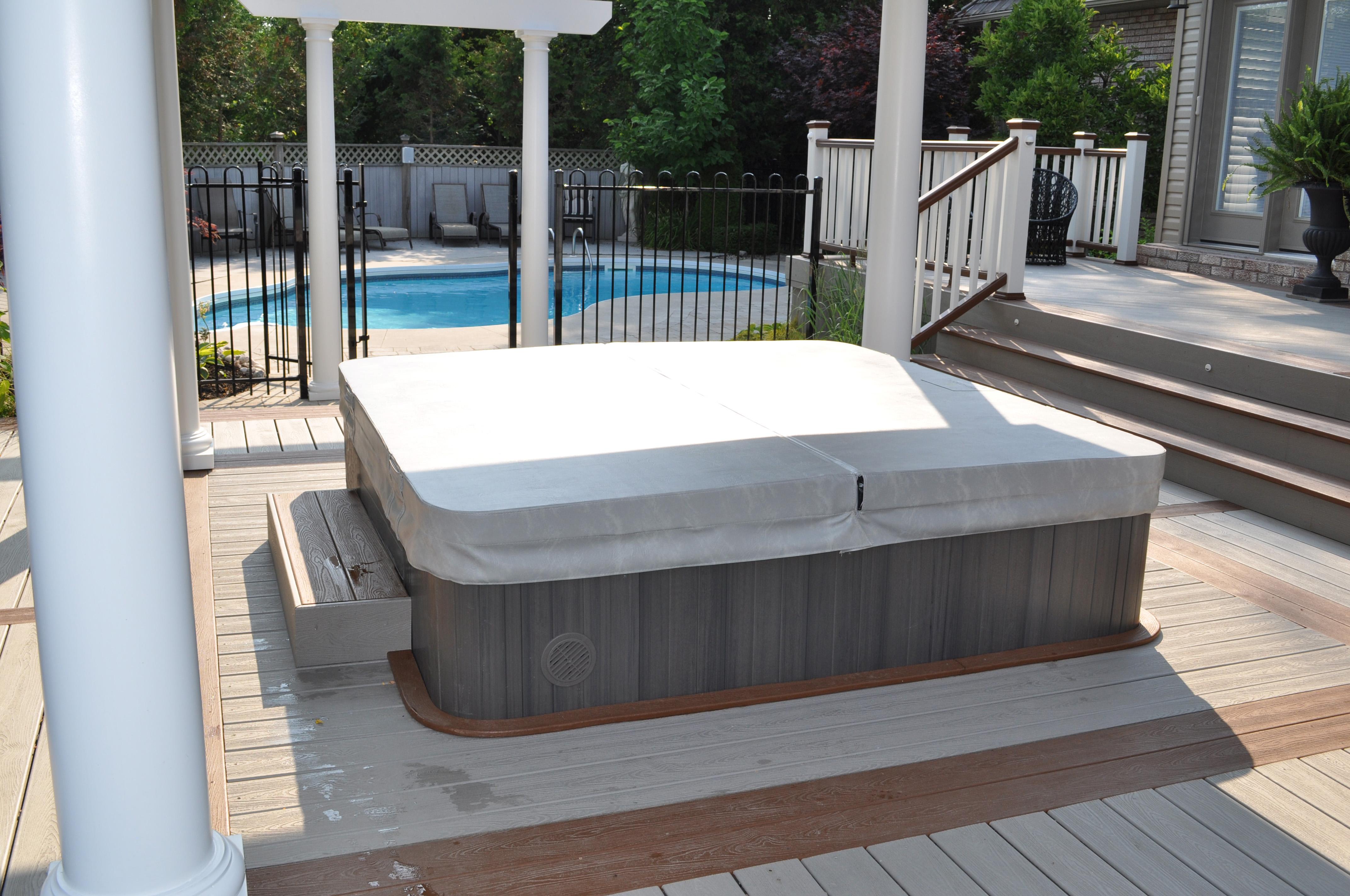 Hydropool serenity hot tub 5000 wellnessdrops - Sauna whirlpool ...