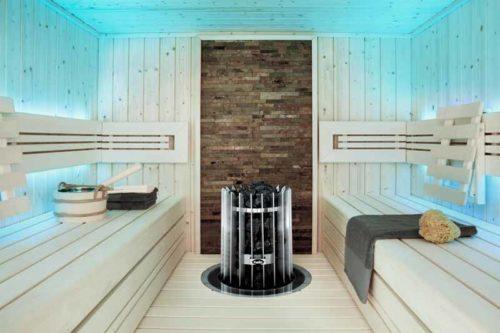 Inneneinrichtung Sauna
