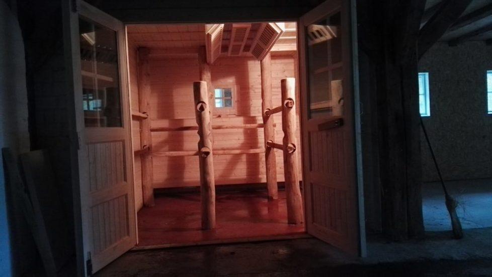Sauna, Sole, Dampf Infrarot für Pferde